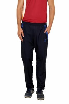 Gypsum Self Design Men,s Blue Track Pants