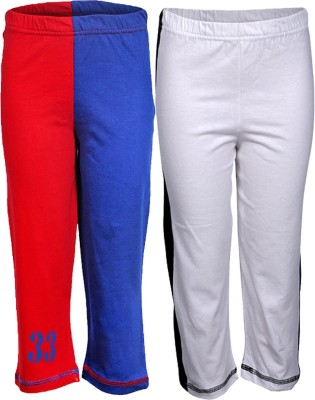 Gkidz Printed Boy,s Blue, Red, White Track Pants