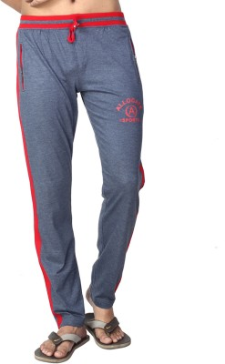 Allocate Solid Men,s Light Blue, Red Track Pants