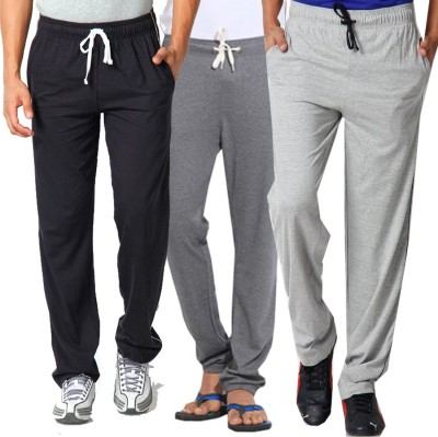 WellFitLook Cool TrackPant Solid Mens Multicolor Track Pants