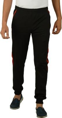 Kanter Solid Men's Black, Red Track Pants