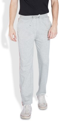 Park Avenue Solid Men's Grey Track Pants