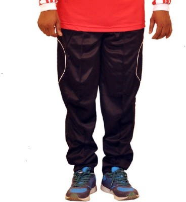 Dyed Colors Striped Men's Black, Yellow Track Pants