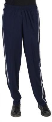 Gazelle Solid Men's Blue Track Pants