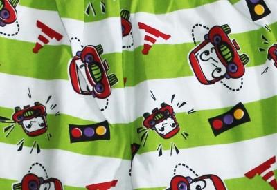 Georgi Striped Baby Boy's Light Green Track Pants