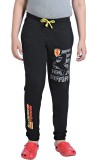 Just4You Track Pant For Boys (Black)