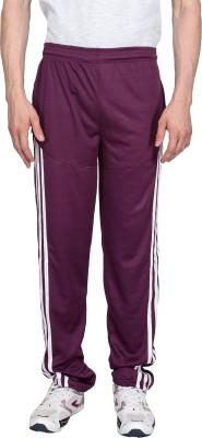 Xplore Maroon Solid Solid Men's Maroon Track Pants