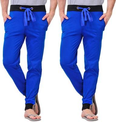 Christy World Solid Men's Multicolor Track Pants