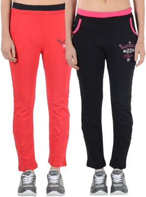 2Day Solid Women's Multicolor Track Pants