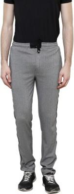 Riverstone Solid Men's Black Track Pants