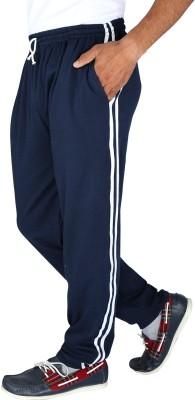Elexa Solid Men's Blue Track Pants