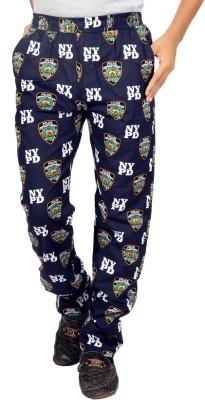 AADUKI Printed Men's Blue Track Pants