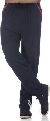 Demokrazy Striped Men's Blue Track Pants