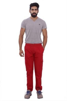 Mountain Colours Solid Men's Yellow Track Pants