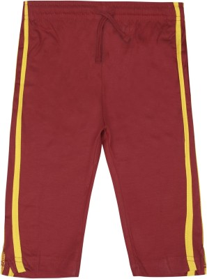 Jazzup Jogger Track Pants Solid Girl's Red Track Pants