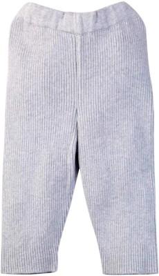 Mom & Me Solid Boy's Grey Track Pants
