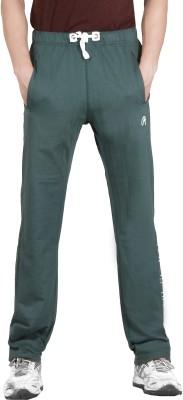 ALIEP Solid Men's Green Track Pants