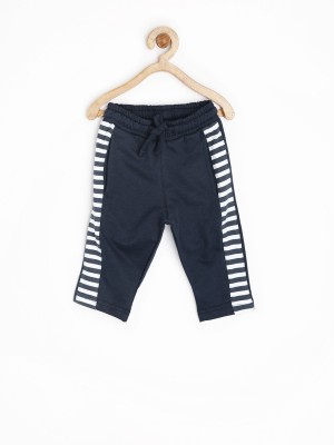 Yk Solid Baby Boy's Dark Blue Track Pants