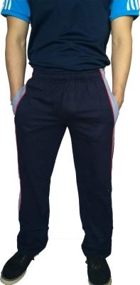 Fizzique Solid Men's Blue Track Pants