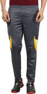 Gumber Solid Men's Grey Track Pants
