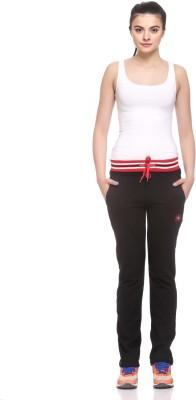 EX10SIVE Solid Women's Black Track Pants