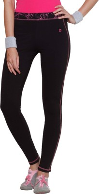 Sweet Dreams Solid Women's Black Track Pants