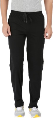 Kafare Solid Men's Black Track Pants