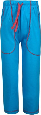Jazzup Mast Track Pant Solid Boy's Blue Track Pants