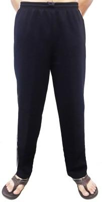 Bluedge Solid Men,s Dark Blue Track Pants