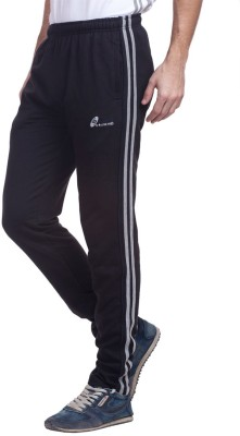 Live In Solid Men's Black Track Pants