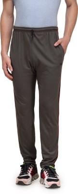 Alfa Plus Premium Solid Men's Grey Track Pants