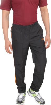 TK Solid Men's Black Track Pants