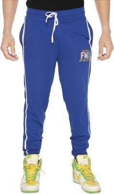 Filmax Fashion Solid Men's Blue Track Pants