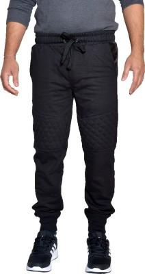 Gen Solid Men's Black Track Pants