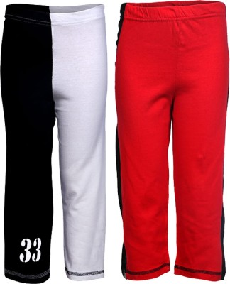 Gkidz Printed Boy,s Red, White Track Pants