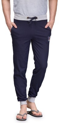 TSX Solid Men's Blue Track Pants