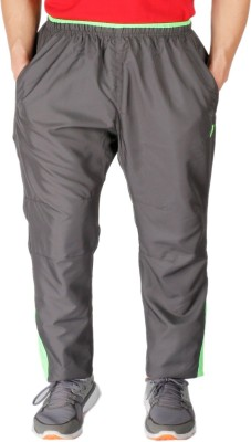 Vector X Solid Men's Grey Track Pants