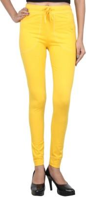 Eimoie Solid Women's Yellow Track Pants