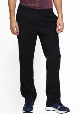 Miffa Solid Men's Black Track Pants