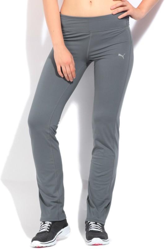 Puma Daniel Solid Women's Grey Track Pants