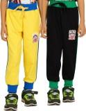 Shaun Solid Men's Yellow, Black Track Pa...