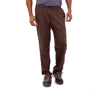 Anchy Solid Men's Brown Track Pants
