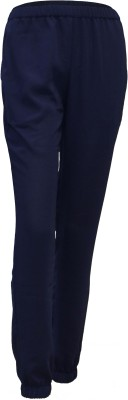 Attuendo Solid Women's Blue Track Pants