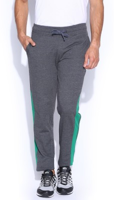 HRX by Hrithik Roshan Solid Men's Grey Track Pants