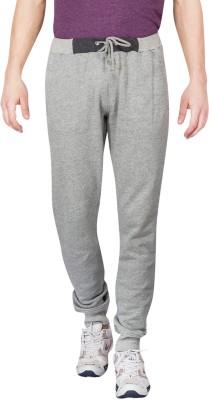 Slub By INMARK Solid Men's Grey Track Pants