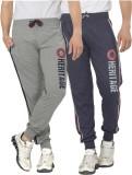 Alan Jones Printed Men's Grey Track Pant...