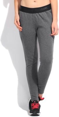 Reebok Classic Solid Women's Black Track Pants
