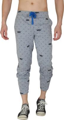 HASH TAGG Self Design Men's Grey Track Pants