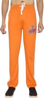 Red Line Solid Men,s Orange Track Pants