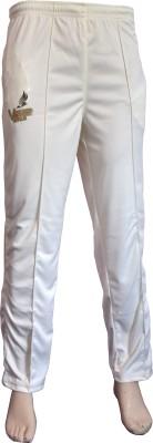 VSP Solid Men's White Track Pants